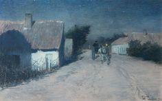 Fritz Thaulow- pastel