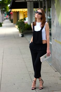 I've never been a fan of overalls but these are great!   From LA By Diana Live Magazine