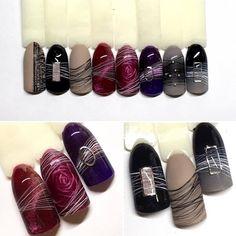 Beautiful nails manicure DivaNail Source by nailsyvette Nail Art Designs, Gel Nail Designs, Gel Nail Art, Nail Manicure, Fancy Nails, Pretty Nails, Sculpted Gel Nails, Uñas Fashion, Diva Nails