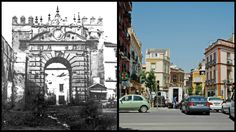 Puerta de Carmona. Localización actual