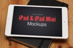 iPad & iPad Mini Mockups by Marcel Neumann on @creativemarket