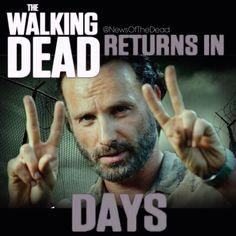 4 DAYS!!!!!! #TheWalkingDead