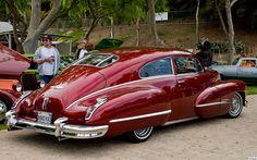 1947 Cadillac - Those lines! Retro Cars, Vintage Cars, Austin Martin, American Classic Cars, Us Cars, Unique Cars, Amazing Cars, Car Car, Bugatti