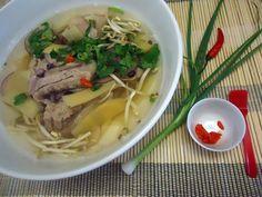 Polévka z vepřových žebírek po vietnamsku - nechte se inspirovat