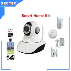 82.99$  Buy here - http://ali2tj.worldwells.pw/go.php?t=32513415039 - SECTEC 720P Yoosee Mobile APP Smart WIFI IP Camera Kit with 4 Accessories for Home Security and Baby Care CCTV Alarm System