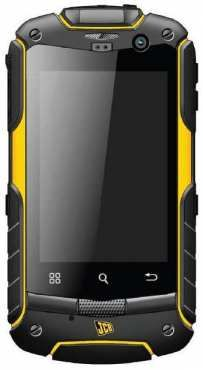 JCB's new range of tough phones, including this Android smartphone.
