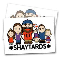 Shaytards - Sticker Pack