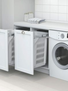 Best 20 Laundry Room Makeovers - Organization and Home Decor Laundry room decor Small laundry room organization Laundry closet ideas Laundry room storage Stackable washer dryer laundry room Small laundry room makeover A Budget Sink Load Clothes Laundry Cupboard, Laundry Room Organization, Laundry Storage, Laundry Hamper, Hidden Storage, Bathroom Storage, Bathroom Ideas, Kitchen Storage, Laundry Cabinets