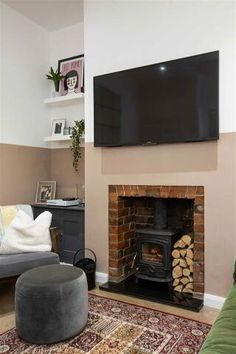 24 Rossmore Avenue, Ormeau Road, Belfast - PropertyPal Mid Terrace House, Log Burning Stoves, Waterfall Taps, Gas Boiler, Farrow And Ball Paint, Double Glazed Window, Wash Hand Basin, Feature Tiles, Cupboard Storage