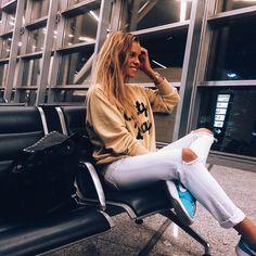 """Alexandra Burimova on Instagram: """"-Алло, Анюта? Ты себе не представляешь! Я сейчас улетаю в Гагры. С самим Якиным!✈️"""""""