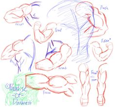 DBZ Arm Practice -1- by Paradise-of-Darkness