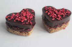 Chocolate Hearts & Chia Jam recipe for Linwoods. Gluten-free / wheat-free / dairy-free / no refined sugar / vegan