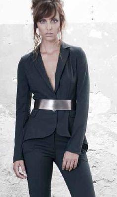 elegantní dámské sako - Koralline - italská móda