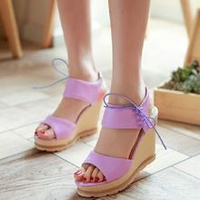 bd0c345c7300a Ingrosso purple wedges shoes Galleria - Acquista Lotti purple wedges shoes a  basso prezzo su Aliexpress.com - Pagina purple wedges shoes