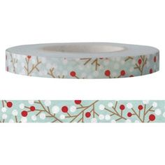 Beautiful washi paper tape for all your packaging needs manufactured by JEANCARD (http://www.jeancard.com/index-en.html)  *** Measurements: 6mm
