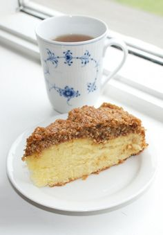 Drømmekage & Royal Copenhagen (Recipe in Danish)
