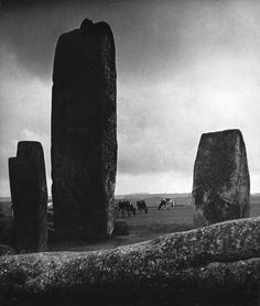 Billy Brand Stonehenge 1944