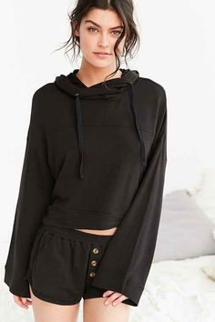 Out From Under Drapey Hoodie Sweatshirt