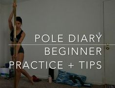 Intimidated by pole dance but curious to try it out? Or just not sure where to begin? Here's a guide with some beginner tips for at-home pole dancing practice.