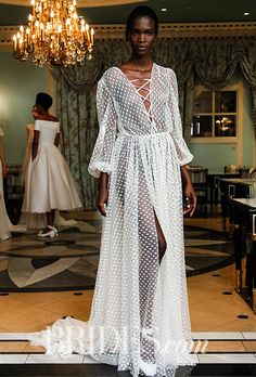 Brides: Delphine Manivet Wedding Dresses - Spring 2017 - Bridal Fashion Week