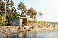 Honka Kontti – Living inspired by nature - Honka Scandinavian Style, Beach House, Live, House Styles, Nature, Inspiration, Cottage Decorating, Decorating Ideas, Design