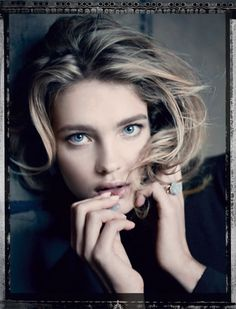 Natalia Vodianova for Dior by Paolo Roversi