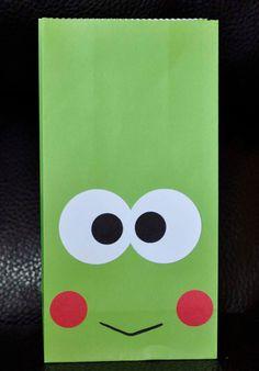 Hello Kitty Keroppi Gift Bags set of 6 Take 20 Off por BestParties, $6.25