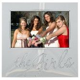 Found it at Wayfair - The Girls Glitter Picture Frame