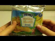 HEIZ Banana Biscotti Snack Snack Recipes, Snacks, Ben And Jerrys Ice Cream, Biscotti, Pop Tarts, Banana, Desserts, Food, Snack Mix Recipes