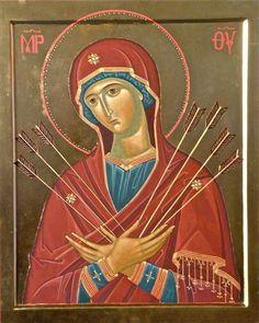 El misterio de la participación de la Virgen de los Dolores en la pasión del Hijo es probablemente e