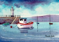 Hey, I found this really awesome Etsy listing at https://www.etsy.com/listing/110730128/watercolour-print-st-ives-harbour