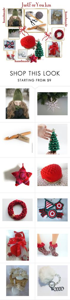 #Handmade by justforyouhm on Polyvore featuring moda