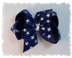 Basic Stars 4th of July Hair Bow