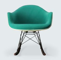 Rocking chair designed by Charles Eames, manufactured by Vitra