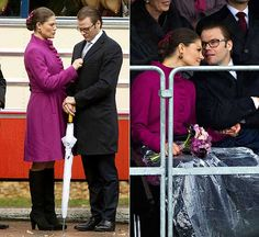 Crown Princess Victoria and Prince Daniel,  21 October 2010