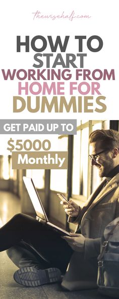 How to start working from home and make money now. A beginner's guide. How to start working from home and make money now. A beginner's guide.,advice to earn money online to make money online money from home to make extra money from home jobs legitimate Make Money Now, Ways To Earn Money, Earn Money From Home, Earning Money, Money Fast, Work From Home Opportunities, Work From Home Tips, Employment Opportunities, Business Opportunities