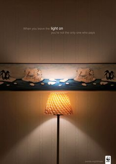 WWF – When you leave the light on, you're not the only one who pays