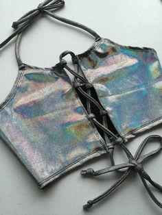 cd6d775e1c0 Lace Me Up Dark Dreamscape Halter Rave Outfits
