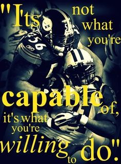 This should apply to more than the Steelers in life... but seeing this with the Steelers in the background is suiting.