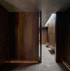 Ramón Esteve diseña una casa de pueblo - diariodesign.com Rural House, Terrace Garden, Beach House, Architecture Design, Concrete, Old Things, Minimalist, Flooring, Traditional