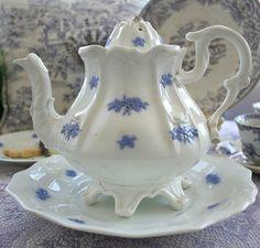 Grandma Brown's china pattern .  So beautiful