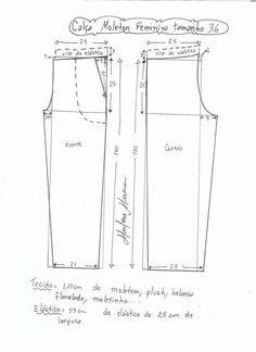 Patrones de costura para hacer pants Ideas de Manualidades