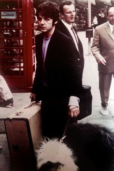 Beatle Paul McCartney and his sheepdog Martha, snapped by a fan. (Vintage Everyday: These 60 Awesome Candid Snapshots of The Beatles Taken by Their Fans ...