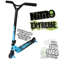 my third MGP - Nitro | MADD GEAR PRO NITRO EXTREME BLUE SCOOTER