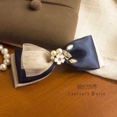 Hair bow pin clip