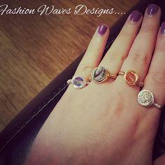 """Be the designer of your own destiny."" ~ Oscar de la renta #oscardelarenta #searings #rings #etsy #designers #trendy #fashion #jewelry #fashionwavesdesigns"