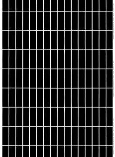 "Marimekko's founder Armi Ratia designed the Tiiliskivi print featured on this heavyweight cotton fabric. The graphic Tiiliskivi print, which translates to ""Brick"" in English, was created in Please order carefully. Marimekko Fabric, Types Of Curtains, Fabric Online, Black Pattern, White Fabrics, Large Prints, Fabric Design, Print Design, Printing On Fabric"