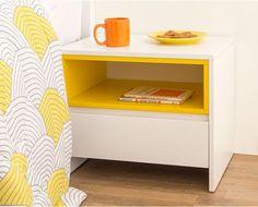 Criado-mudo Libia - 42x50 - Amarelo