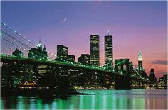New York at Night   Cityscape   Hardboards   Wall Decor   Plaquemount   Blockmount   Art   Pictures Frames and More   Winnipeg   MB   Canada