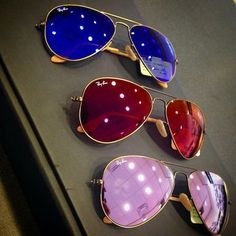 colored ray bans